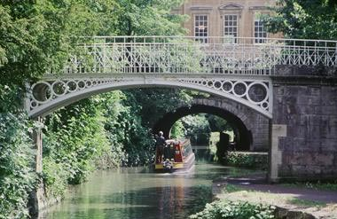The Kennet and Avon Canal at Bath